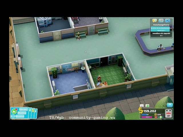 Jetzt wird geforscht ! | Folge #011 | Let's Play Two Point Hospital