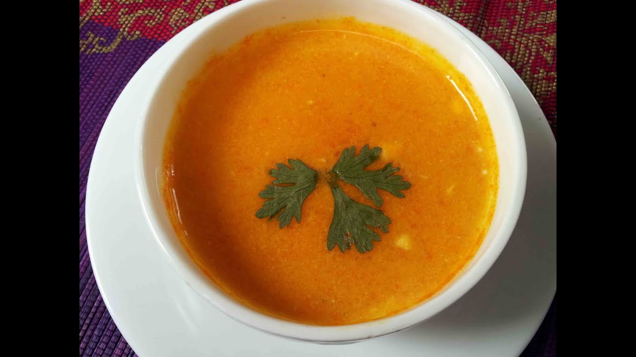 how to make veg shorba soup