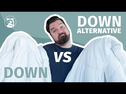 Down Vs Down Alternative Comforters - How Can You Choose?!
