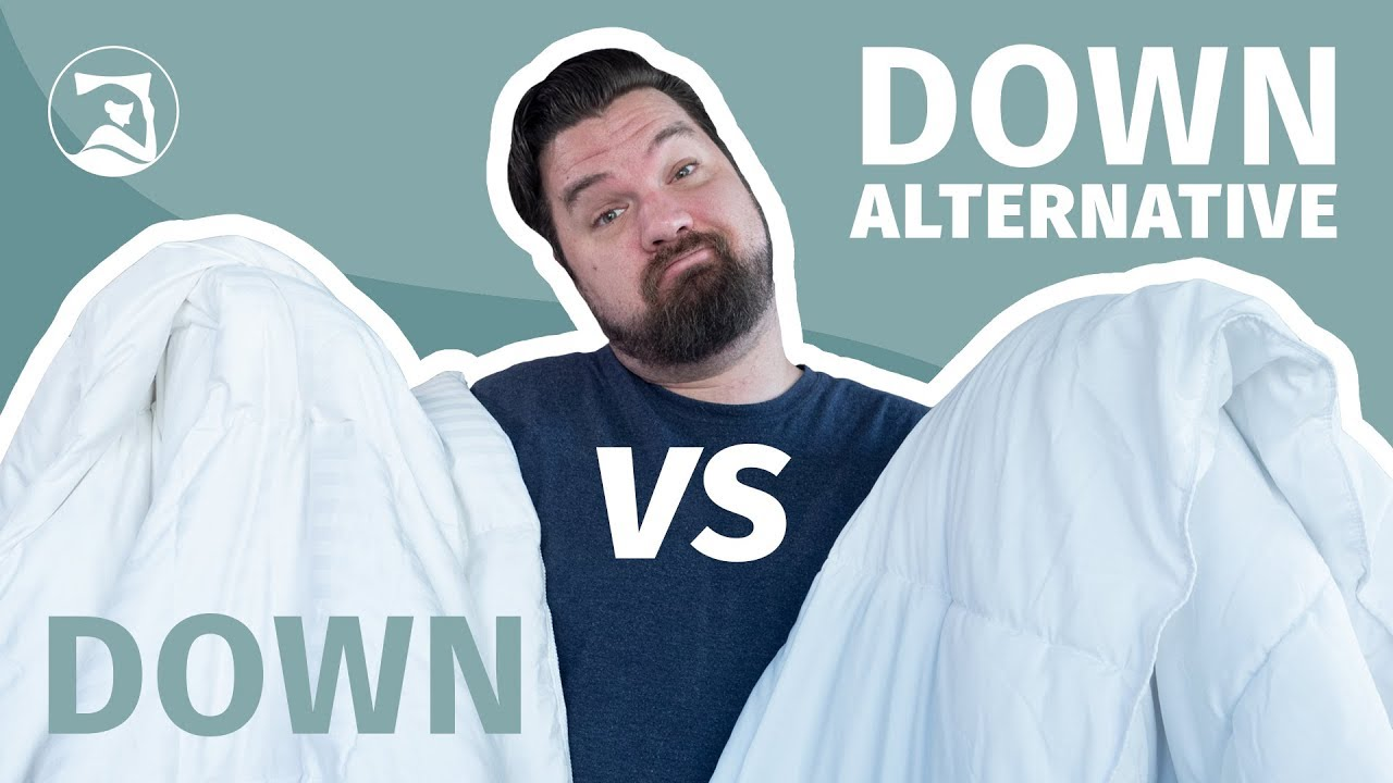 Down Vs Down Alternative Comforters (2021) | Mattress Clarity