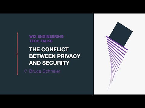 Bruce Schneier  -  The Conflict between Privacy and Security
