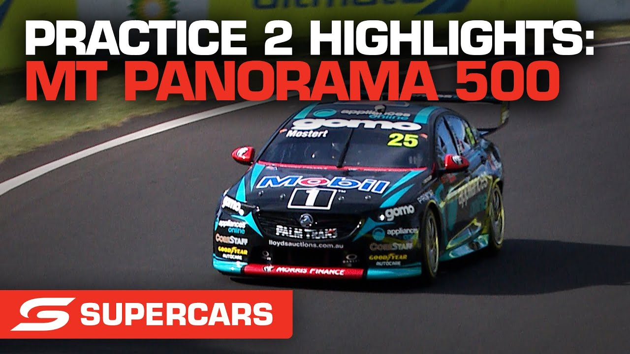Practice 2 Highlights - Repco Mt Panorama 500   Supercars 2021