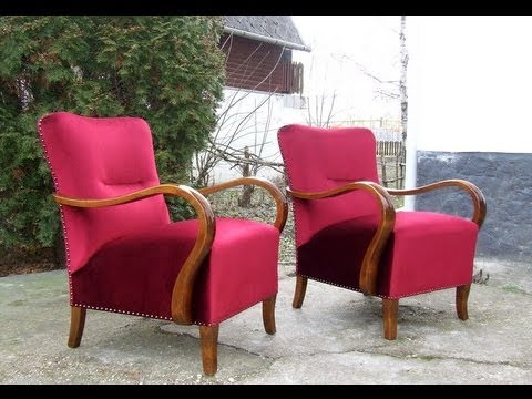 Art Deco Cocktail Chairs, Armchairs.