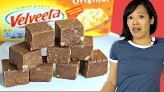 Velveeta Fudge - Will It Taste Like CHEESE? | Retro Recipe Test