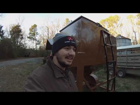 C & B Farm and Outdoors and L & H Versa Tote Feed Trailer
