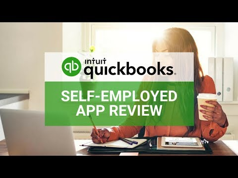 Quickbooks Self-Employed Canada App Tutorial & Review