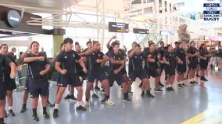 Dream Rugby Fukuoka | Welcome Haka at Auckland Airport