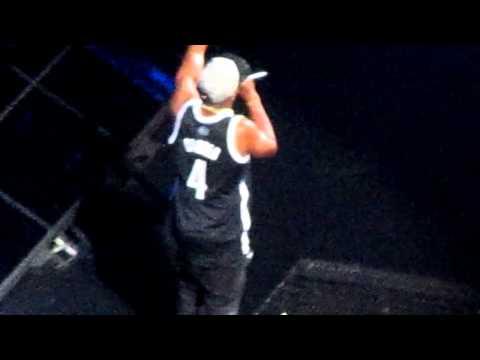 "Jay Z performs ""Jigga What, Jigga Who"" at the Barclays Center Night 3"