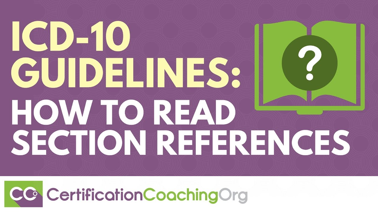 Icd 10 guidelines how to read section references youtube icd 10 guidelines how to read section references xflitez Image collections