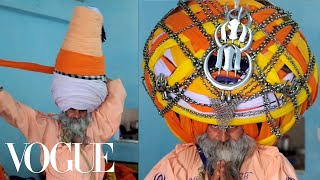 How to Tie a 200-Pound Turban—Sikh Style! - Vogue