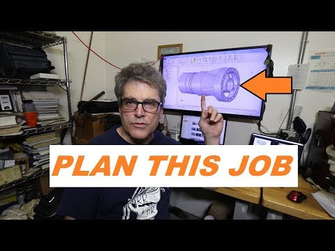 Plan A Job From The Cad Model.