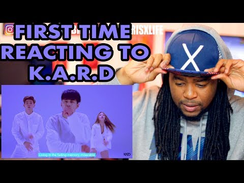 K.A.R.D - Don`t Recall M/V | REACTION!!!