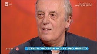Scandalo molestie, parla Dario Argento - 1ª parte - Domenica In 12/11/2017