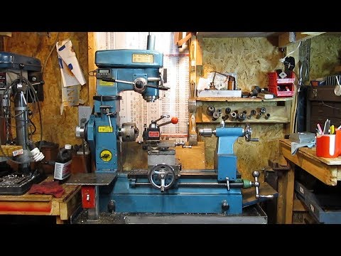 My Chinese Mill/Lathe Combo - Review and Projects