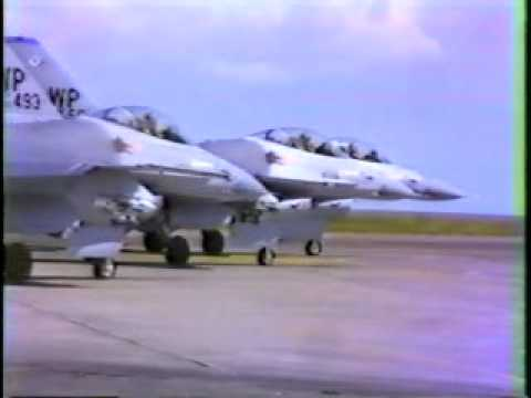 Cope Thunder mock air combat training program