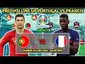 Prediksi Portugal vs Prancis fase grup euro 2021 | Prediksi starting line up