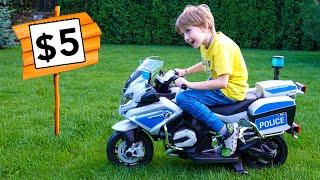 Eli wants to buy new Police Motorcycle