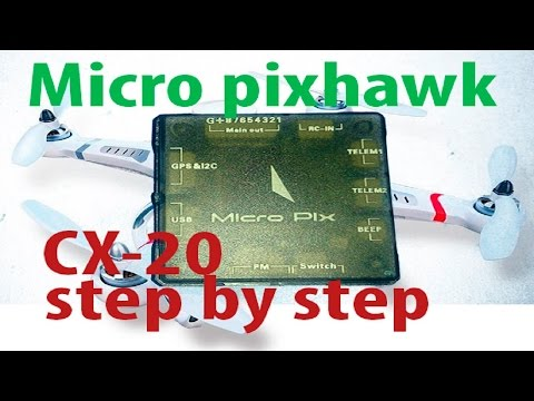 micro pix installed in a cx20 step by step