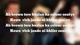 (LYRiCS) Guru Randhawa: Nachle Na  | DIL JUUNGLEE | Neeti M | Taapsee P Saqib Saleem Jacky