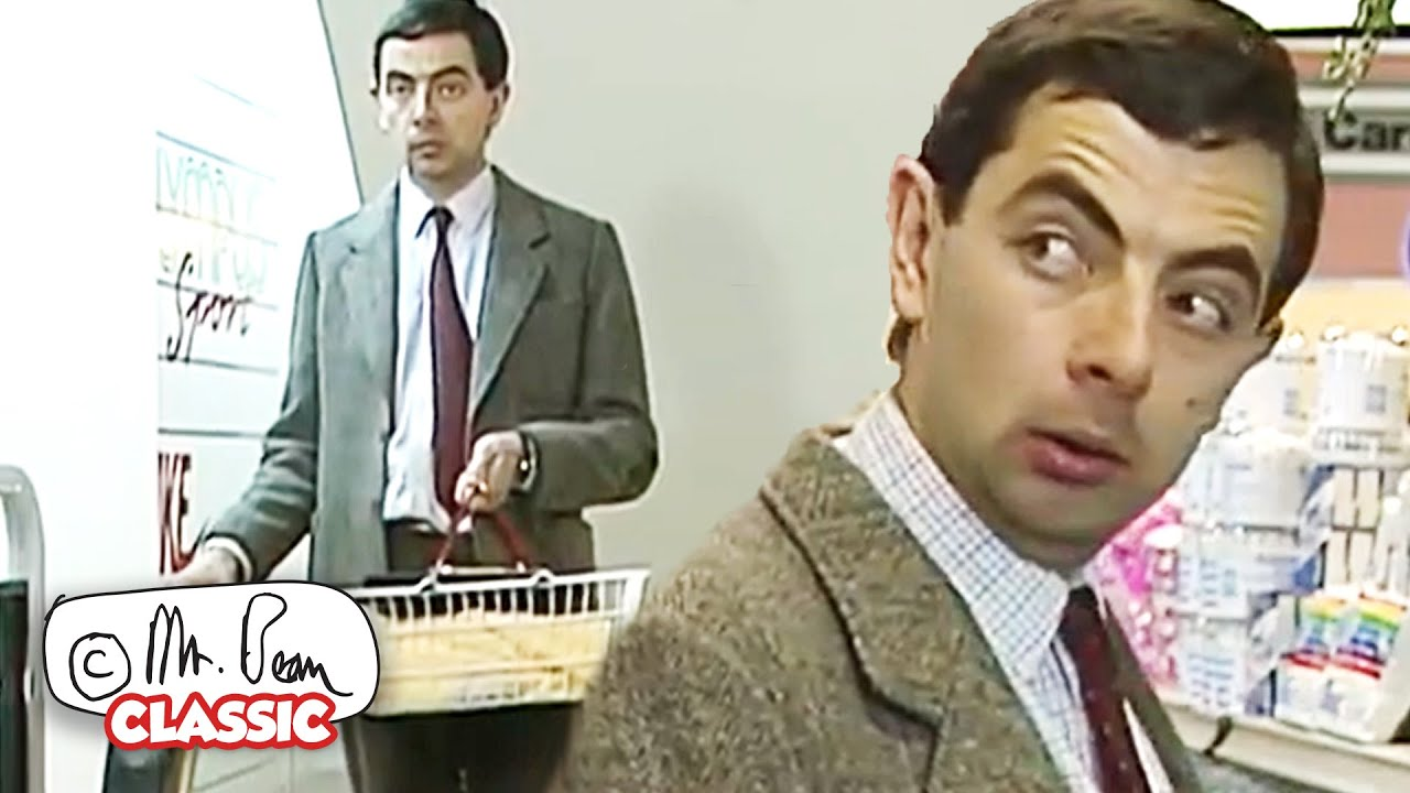SHOPPING Day!   Mr Bean Full Episodes   Classic Mr Bean