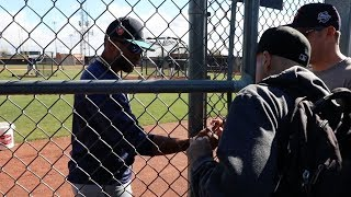 Getting Robinson Cano to sign my 10,000th baseball! thumbnail