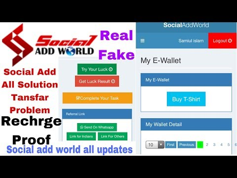 Social add world || New Update And B2r News