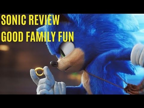 SONIC Movie Review - Great Family Fun
