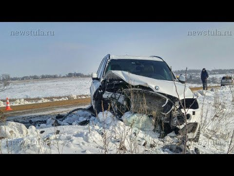 В ДТП в Киреевском районе Тульской области погибла женщина