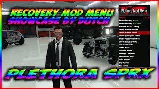 GTA 5/PS3 SPRX 1.26 DEX PLETHORA RECOVERY MOD MENU *(EASY & FAST RECOVERY)* MADE BY TRAGICMODS