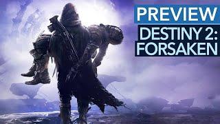 Destiny 2: Forsaken will die Magie von Destiny 1 zurückbringen - aber wie? - Gameplay-Preview