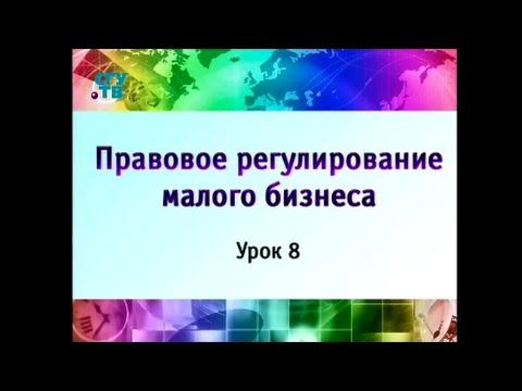 Урок 8. Условия предпринимательского договора