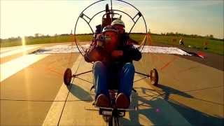 Lot Motoparalotnią – Lublin video