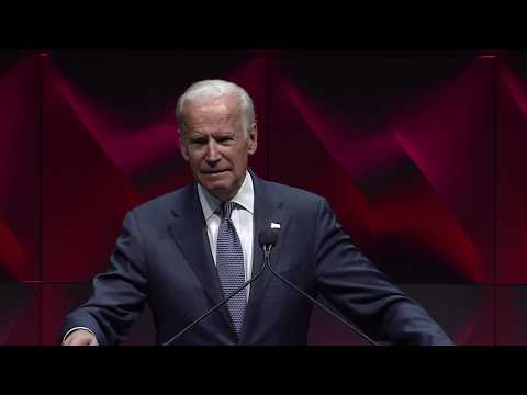 Former Vice President Joe Biden AACR Annual Meeting 2017