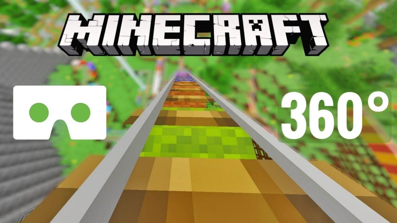 [8 video] 8° Roller Coaster Minecraft VR Box 8° Nintendo Switch  Virtual Reality