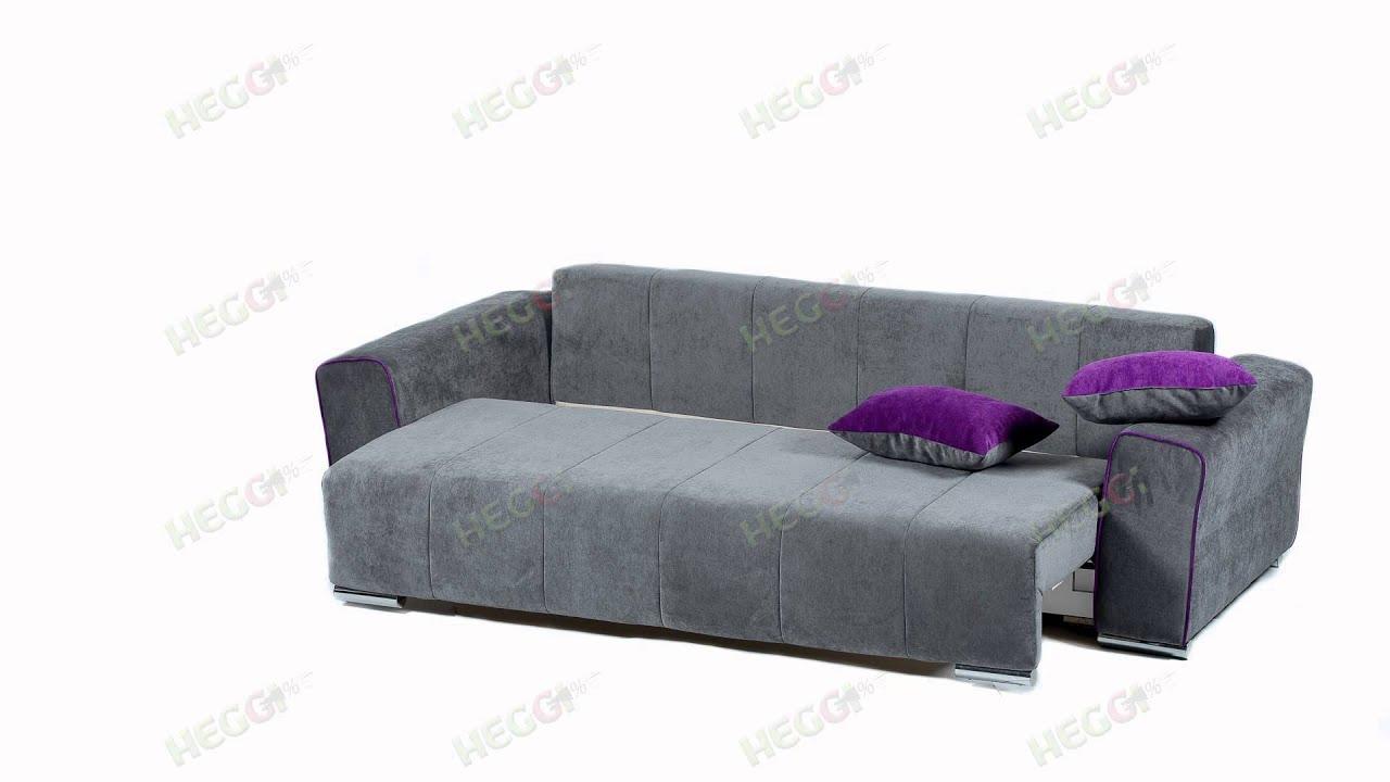 Купить диван сидней, каталог с фото и ценами, диван из ткани: размер 287 х 192 х 92 см со спальным местом, фиолетового цвета, механизм аккордеон интернет магазин цвет диванов, в москве.