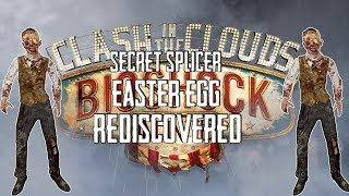 Bioshock Infinite How to do Secret Splicer Easter Egg in Clash in the Clouds! (Splicer Easter Egg)
