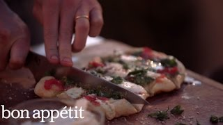 How to Grill Pizza | Bon Appetit