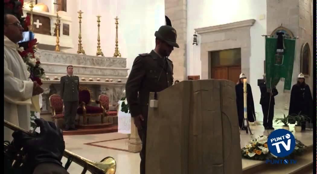 Cordoglio e commozione a Corato per i funerali dell alpino Massimiliano  Cassa 07af8c8069c4
