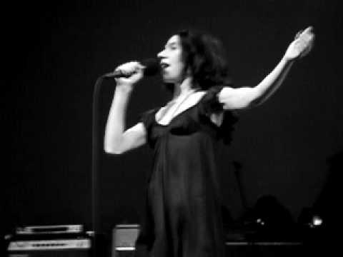 PJ Harvey & John Parish - Pig Will Not (Brussels '09)