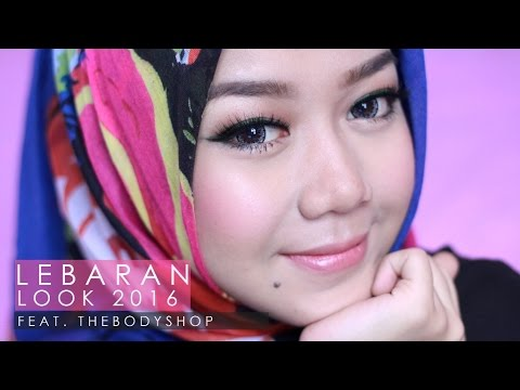 Makeup Lebaran 2016 with TheBodyShop | Cheryl Raissa