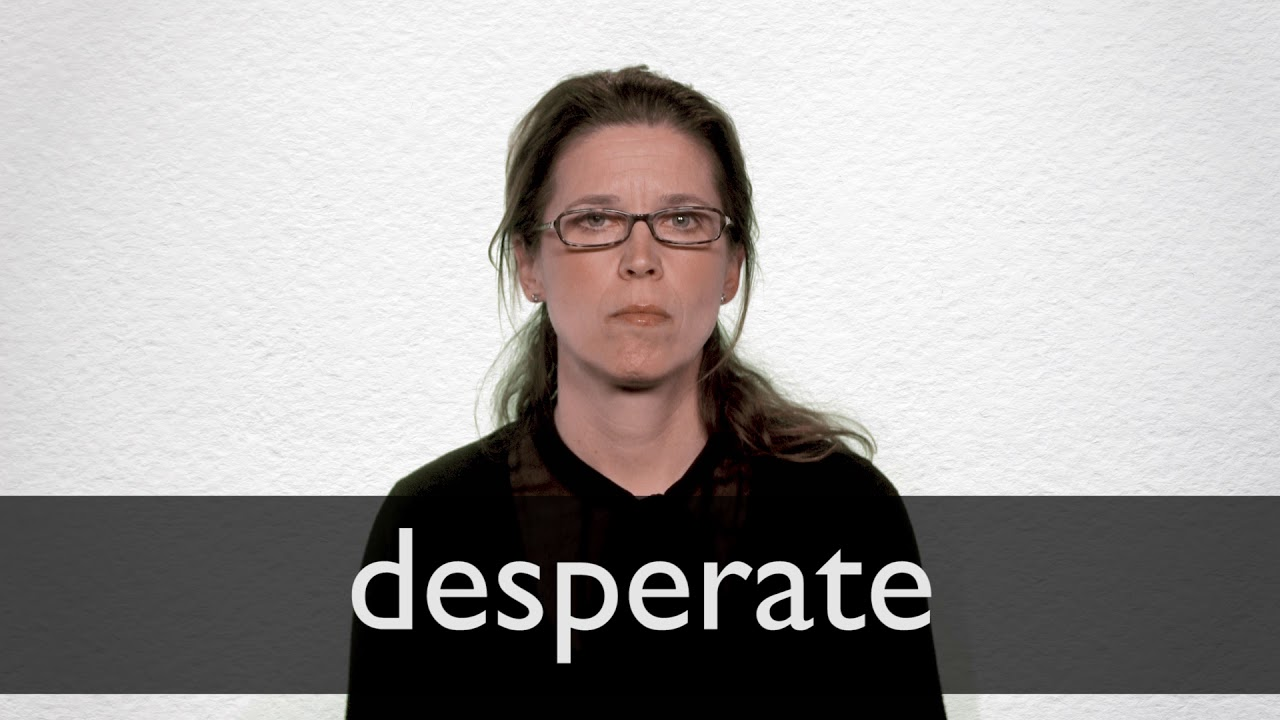 How To Pronounce Desperate In British English Youtube  click to listen to the pronunciation of desperate. how to pronounce desperate in british english