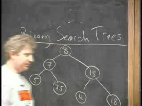 Algorithms - Searching & Data Structures - Lecture 4