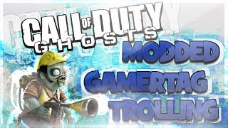 modded gamertag trolling call of duty ghosts random funny gamertags hilarious reactions