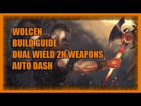 Wolcen   :: Wolcen Auto Dash 2H Sword Build! Dual Wield!
