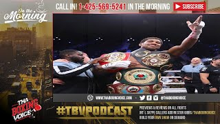 ☎️Anthony Joshua Dominated Andy Ruiz Jr.🔥A MASTERCLASS❗️Morning After Thoughts🤔