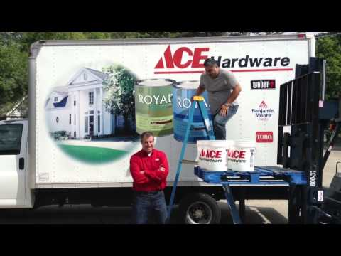 Gordon's Ace Hardware Ice Bucket Challenge