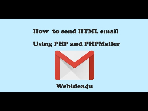 Send HTML Email From Localhost Using PHP And PHPMailer