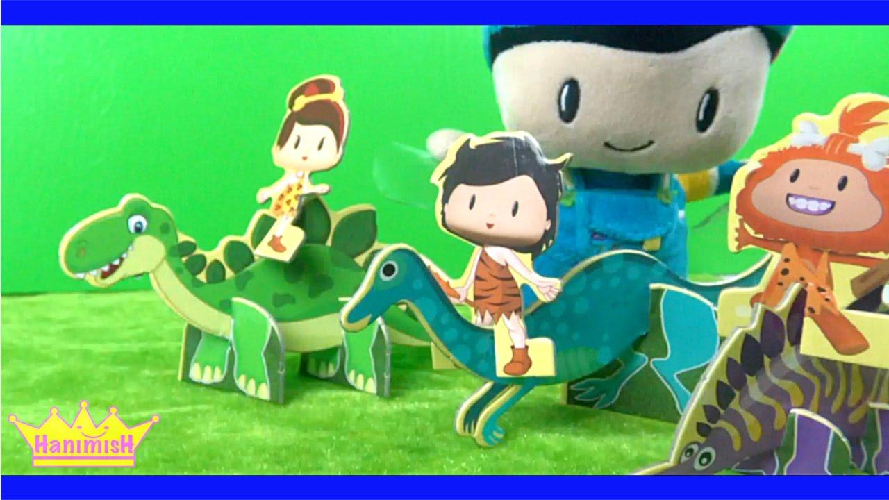 Pepee ve kayu Çizgi filmi oyuncağı ile Pepee Dinozorlar Diyarında Pepee Dergisi açtık - HanimisH TV