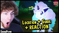 Galar Ponyta + Rapidash Guide and REACTION - Pokemon Shield Exclusive (Pokemon Sword & Shield)