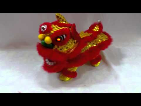 醒獅賀歲 Mini Lion Dance. Toy